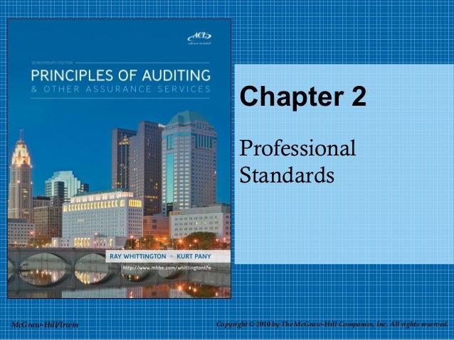 Chapter 2                           Professional                           StandardsMcGraw-Hill/Irwin   Copyright © 2010 b...