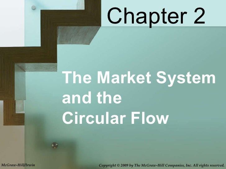 The Market System and the  Circular Flow Chapter 2 McGraw-Hill/Irwin Copyright © 2009 by The McGraw-Hill Companies, Inc. A...