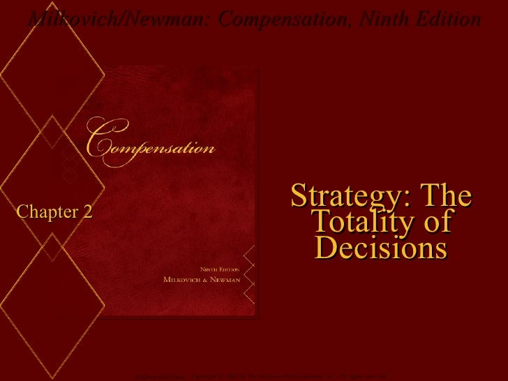 Chapter 2 Strategy: The Totality of Decisions