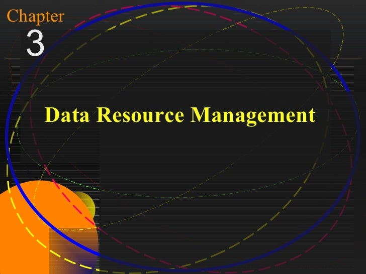 1Chapter   3        Data Resource ManagementMcGraw-Hill/Irwin   Copyright © 2004, The McGraw-Hill Companies, Inc. All righ...