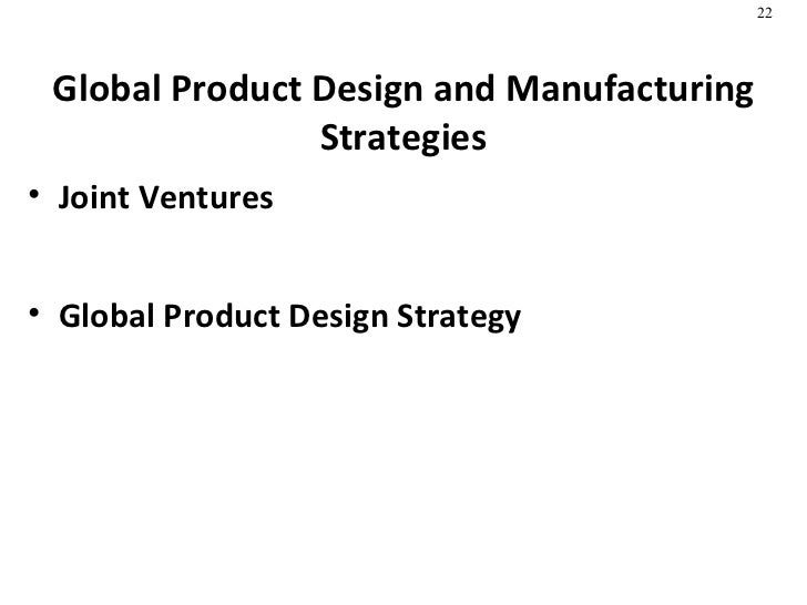 product design  u0026 process selection