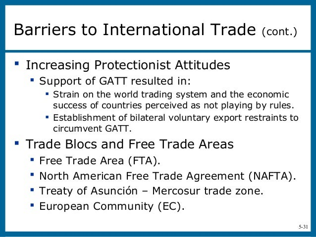 The specific objectives of the north american free trade agreement