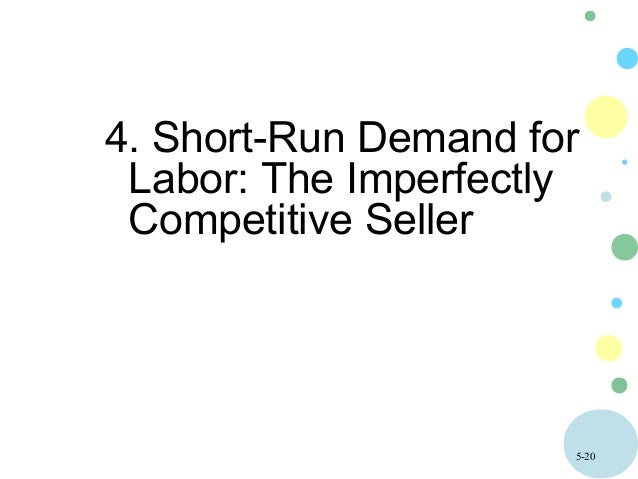 the demand for labor The demand for labor services is a demand by business firms for a specific type of labor that is suitable to render specific services in order to obtain these specific services, the entrepreneur must offer these workers incentives sufficient to entice them to withdraw their efforts from other endeavors which the worker might choose to engage in.