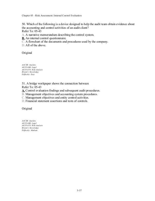 audit workpaper template - chap005 tb sample