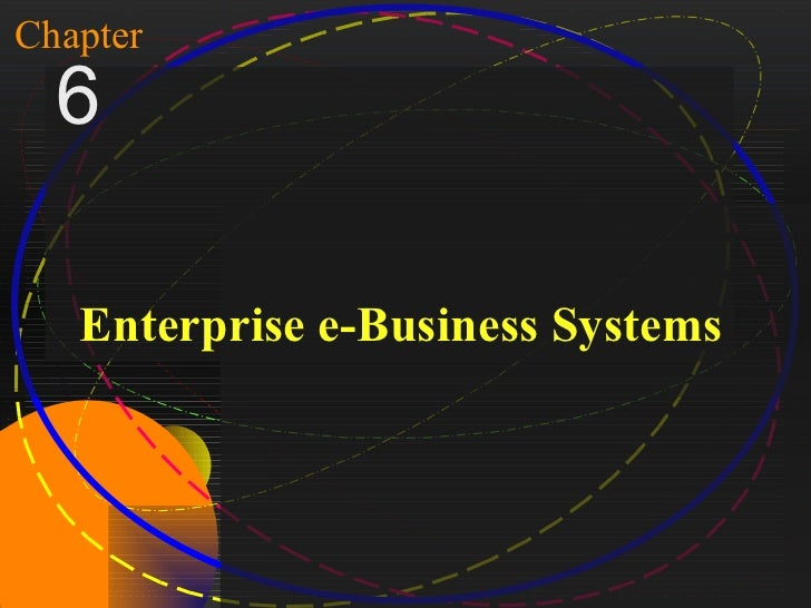 1Chapter   6     Enterprise e-Business SystemsMcGraw-Hill/Irwin   Copyright © 2004, The McGraw-Hill Companies, Inc. All ri...