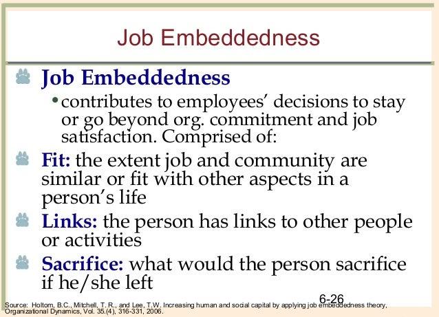 job embeddedness Veel vertaalde voorbeeldzinnen bevatten embeddedness – engels-nederlands woordenboek en zoekmachine voor een miljard engelse vertalingen.