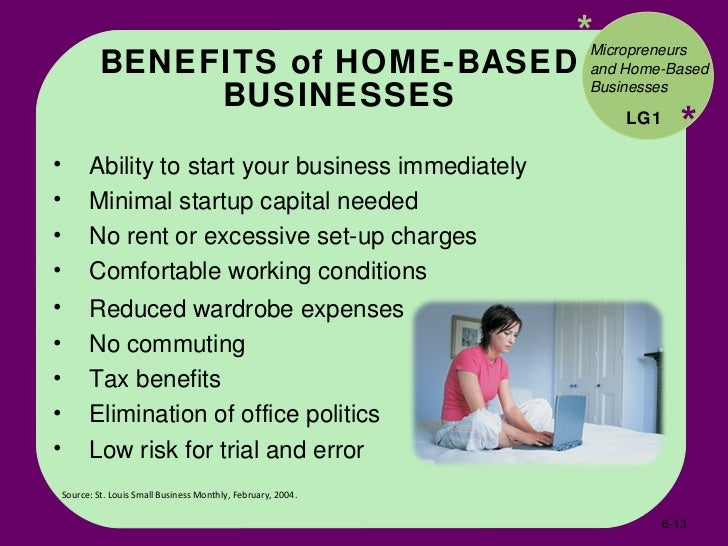 13 Benefits Of Home Based Businesses