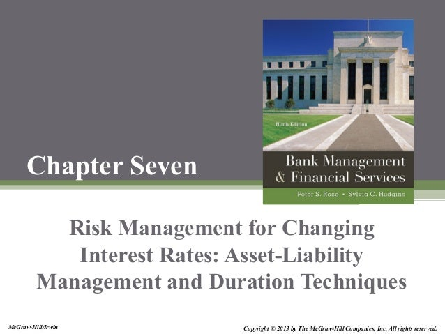 McGraw-Hill/Irwin Copyright © 2013 by The McGraw-Hill Companies, Inc. All rights reserved. Chapter Seven Risk Management f...