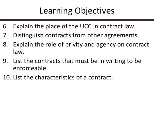Privity of contract essay