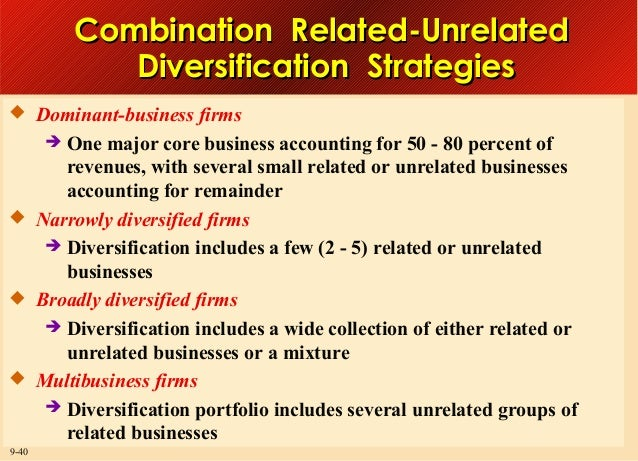 diversification strategy caterpillar The main purpose behind the strategy of diversification is to allow company to go through various lines of business which are different from current operations (diversification strategy, 2010) kfc has successfully achieved the goal which has been setup by the company which has relation with the diversification strategy.
