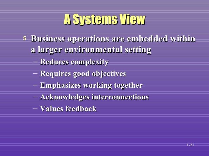 introduction to computer based information system Chapter 1 — introduction to computer systems a computer is a complex system consisting of both hardware and software components this chapter discusses these.