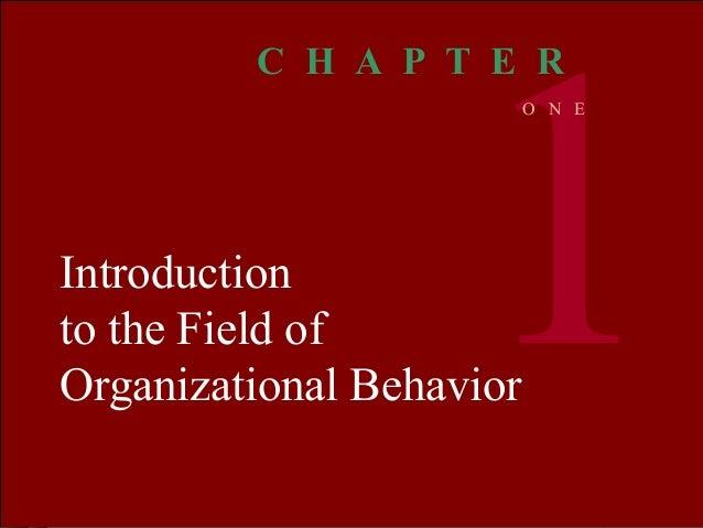 Organizational BEHAVIOR MCSHANE VON GLINOW 1 © The McGraw-Hill Companies, Inc. 2000Irwin/ McGraw-Hill Introduction to the ...