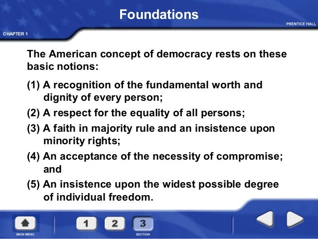 Equality is the Core Value of Democracy