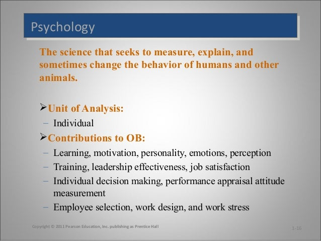 e organizational behavior motivation and performance Employee motivation, ie methods for motivating employees, is an intrinsic and internal drive to put forth the necessary effort and action towards work-related activities it has been broadly defined as the psychological forces that determine the direction of a person's behavior in an organization, a person's level of effort and a.