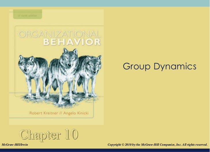 Group Dynamics           Chapter 10McGraw-Hill/Irwin       Copyright © 2010 by the McGraw-Hill Companies, Inc. All rights ...