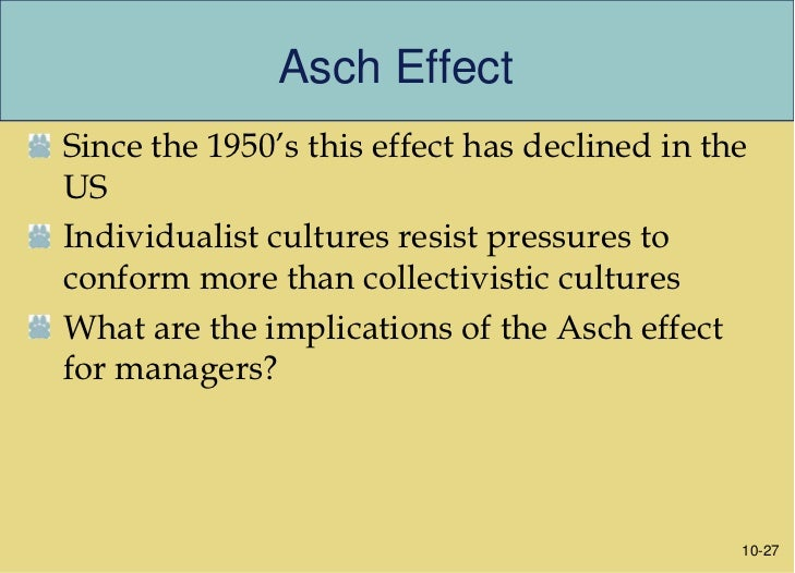 asch phenomenon Asch definition, us author, born in poland see more.