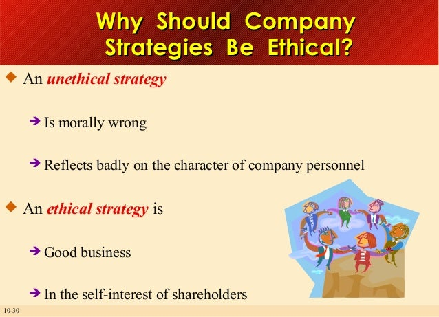 the ethical approach in business strategic In order to analyze their ethics view, qualitative approach is held  especially,  the changing ethics view on corporate business life and the effects on strategic.
