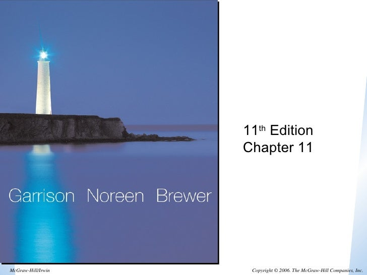 11 th  Edition Chapter 11