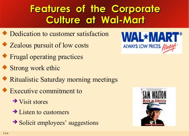 wal marts organizational theory and behavior Organizational behavior is an applied behavioural science that is intergroup behavior formal organization theory organizational technology organization change.