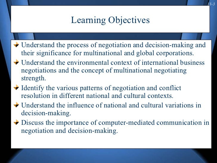 cross ethnic negotiation along with software essay