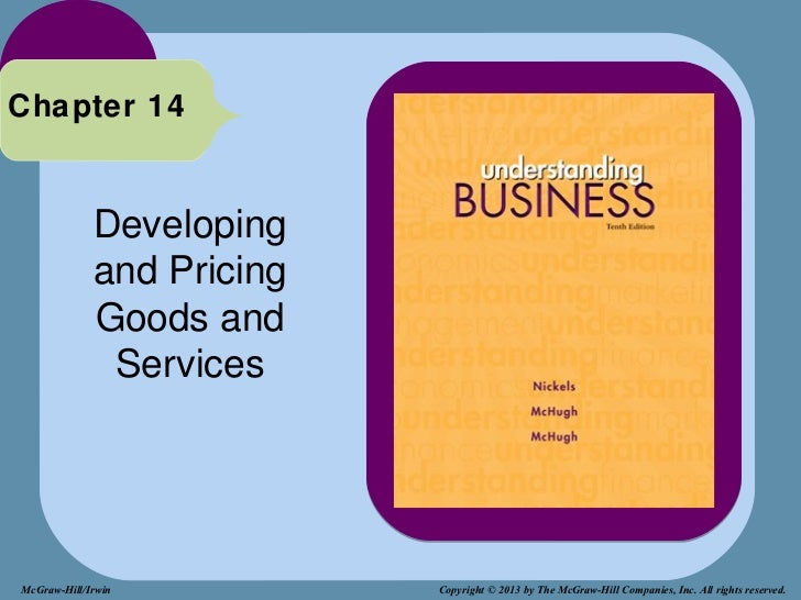 Chapter 14             Developing             and Pricing             Goods and              ServicesMcGraw-Hill/Irwin    ...