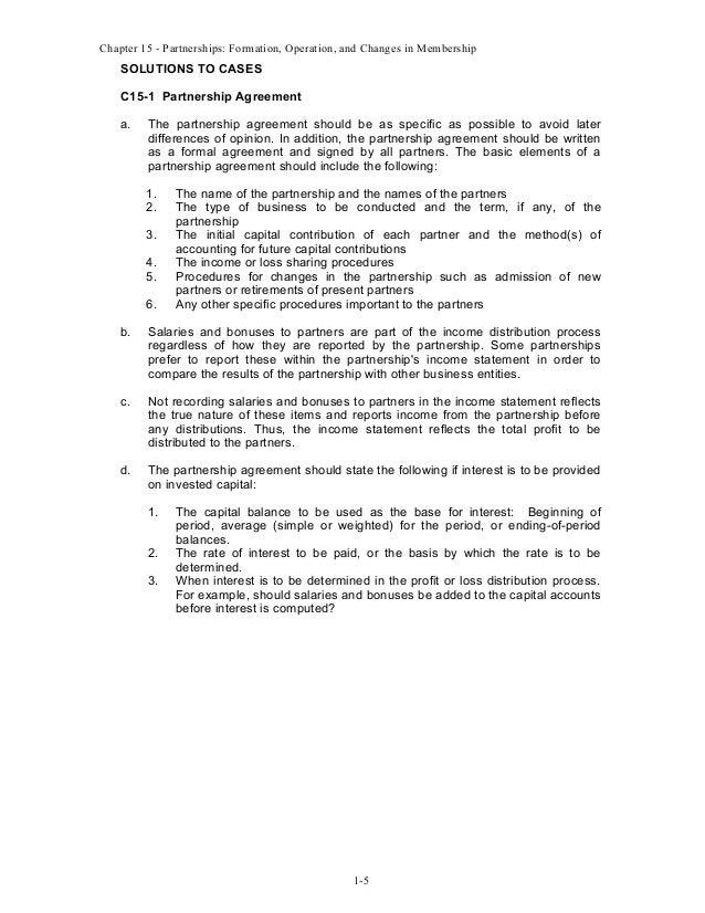 Partnership Buyout Form Solidaphikworks