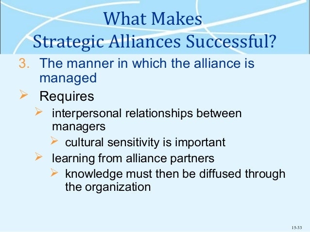 entry strategies strategic alliances Entry strategies: joint ventures and strategic alliances - entry strategy and organization structure control over local operations  control over local operations  opportunism.