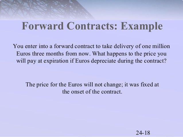 forward contract Start studying finance: forward and future contracts learn vocabulary, terms, and more with flashcards, games, and other study tools.