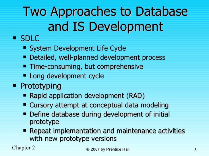database development process However with a good database or crm being thoroughly prepared and adopting a step by step approach to the process of database development should help you end up with a database that meets your needs: preparation decide what you want.