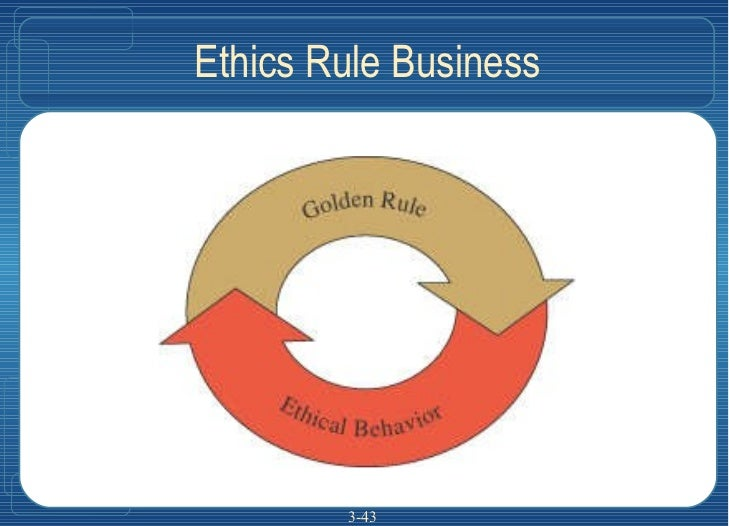 Ethics Rule Business 3-