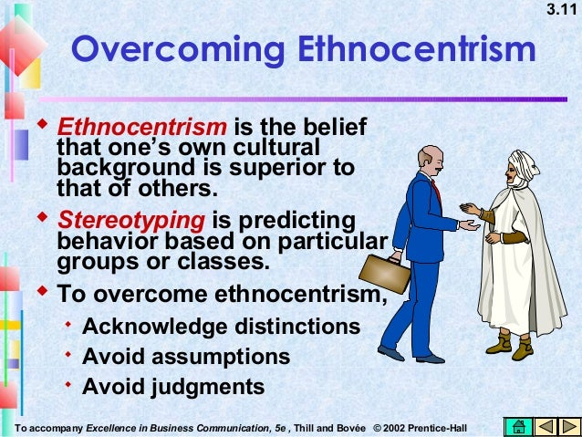 overcoming ethnocentrism Ethnocentrism, there is a gap in literature with regards to qualitative data researching ethnocentrism, especially the lack of research on overcoming ethnocentrism in order to help those directly involved and exposed to this.