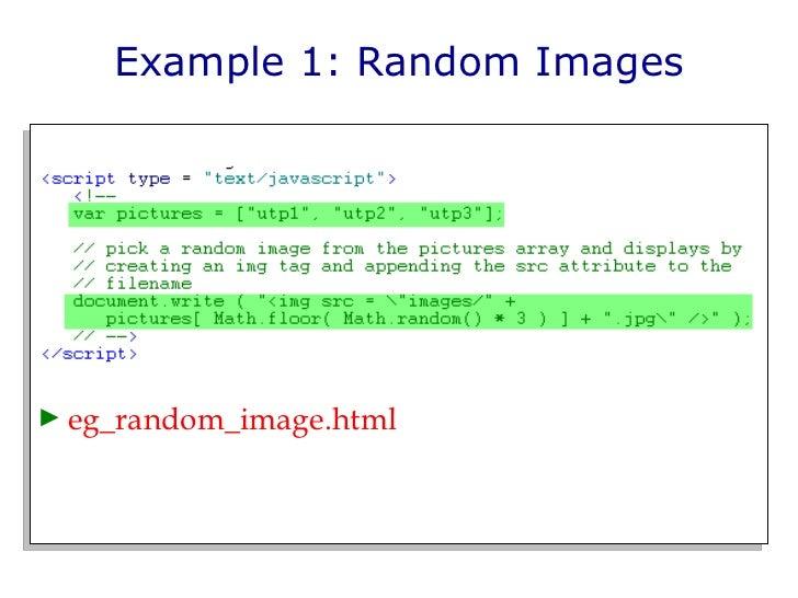 Javascript Random Array