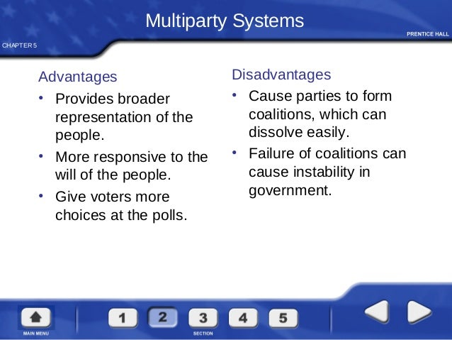 merits and demerits of multi party system