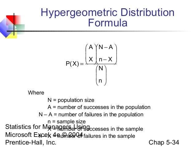 Chap05 Discrete Probability Distributions