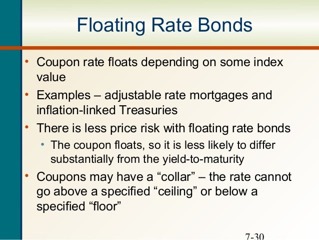 Floating-Rate Securities