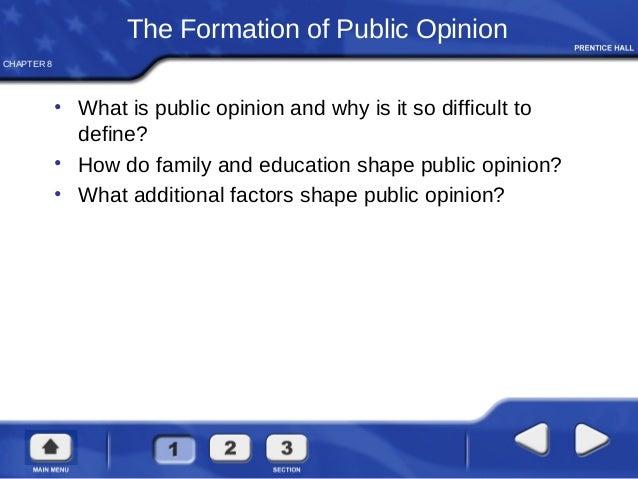 media and public opinion essays Society, news, media - media's effect on public opinion.