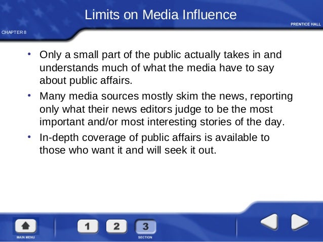 how does the media impact an Media influence has a massive effect on your life – you probably just don't know it yet learn how the media really works – and what you can do to unplug from the propaganda.