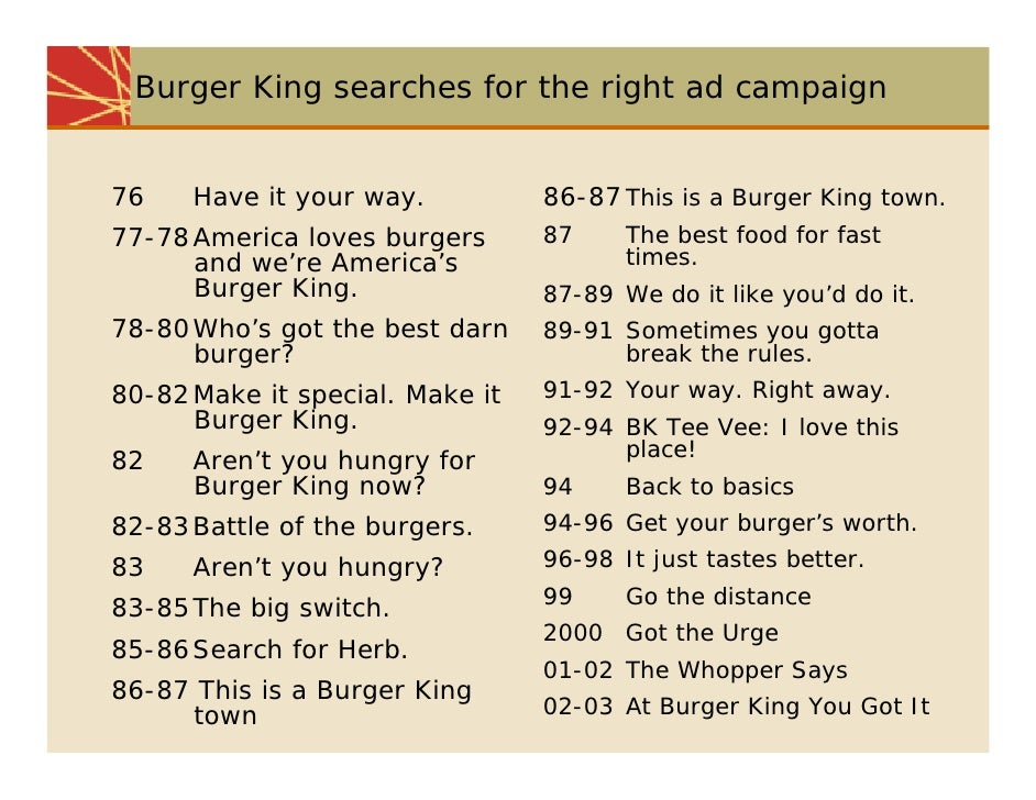 burger king strategic planning and implementation Marketing segmentation, targeting and positioning of burger king essay targeting positioning of burger king burger king corporation is founded by james mclamore 1994 marketing management: analysis, planning, implementation, and control (the prentice-hall series in marketing) 8th.
