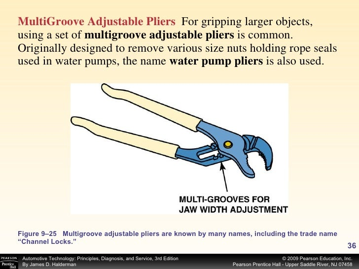 <ul><li>MultiGroove Adjustable Pliers   For gripping larger objects, using a set of  multigroove adjustable pliers  is com...