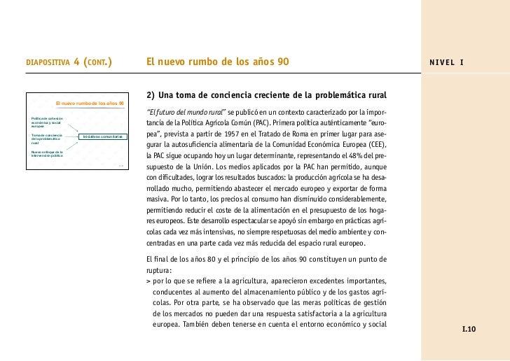 DIAPOSITIVA             4 (CONT.)                     El nuevo rumbo de los años 90                                       ...