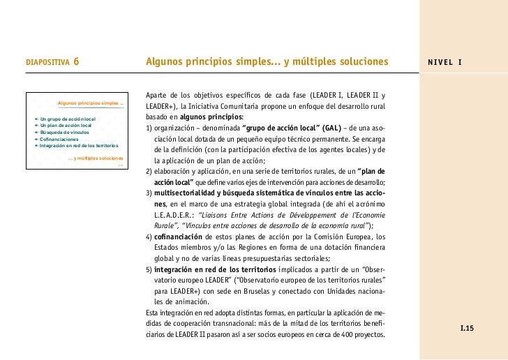 DIAPOSITIVA        6                              Algunos principios simples... y múltiples soluciones                    ...