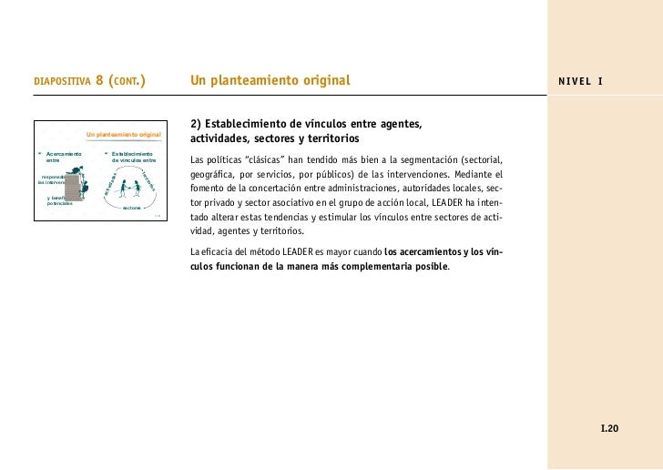 DIAPOSITIVA             8 (CONT.)                               Un planteamiento original                                 ...