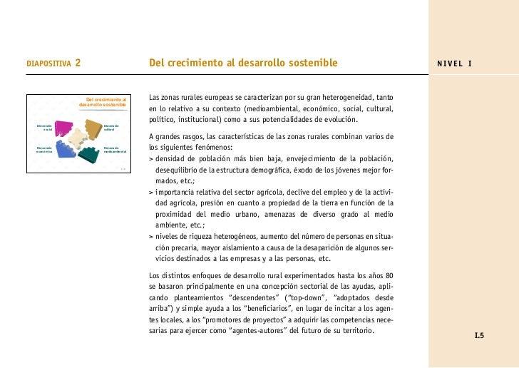 DIAPOSITIVA    2                            Del crecimiento al desarrollo sostenible                                      ...
