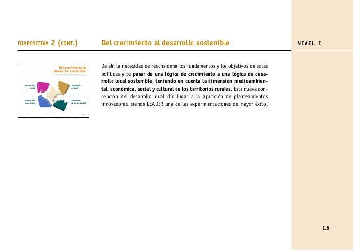 DIAPOSITIVA    2 (CONT.)                    Del crecimiento al desarrollo sostenible                                      ...