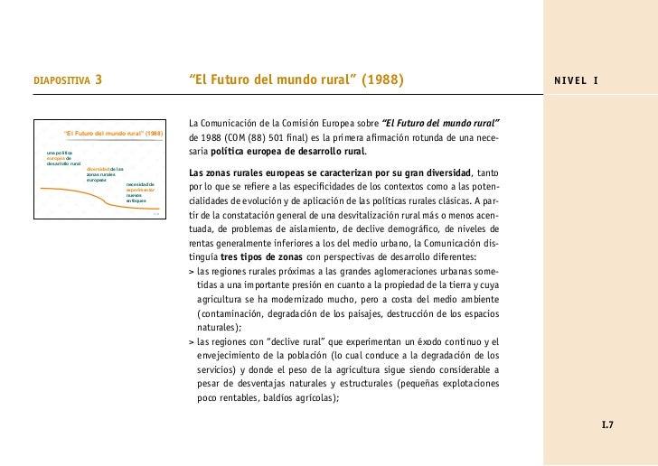 """DIAPOSITIVA             3                                 """"El Futuro del mundo rural"""" (1988)                              ..."""