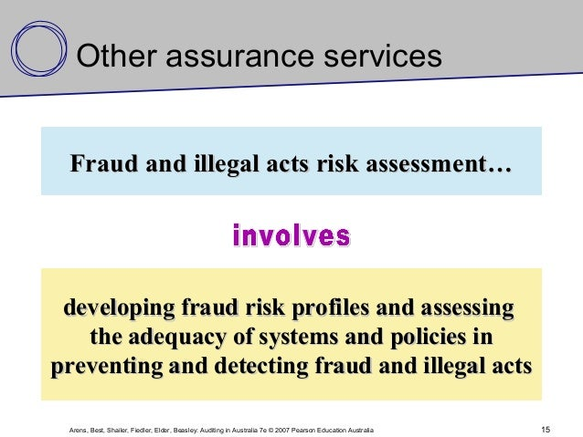 auditing and assurance services in australia Part 1 the auditing profession chapter 1 demand for audit and assurance services chapter 2 auditors' legal environment chapter 3 audit quality and ethics chapter 4.