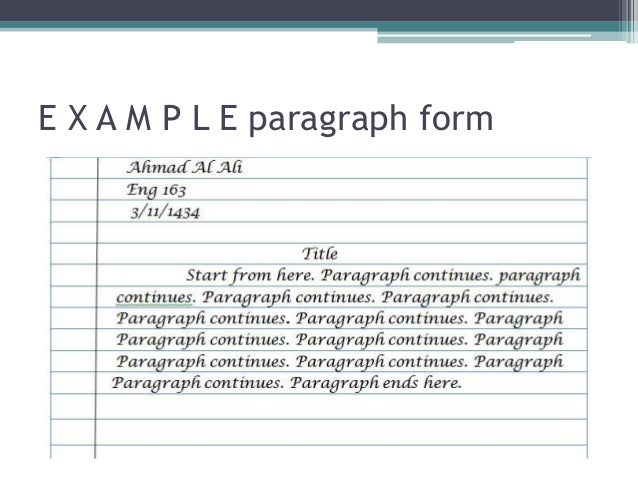 Chap1.2 paragraph organization