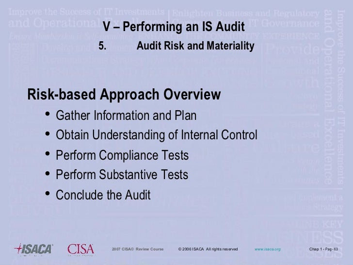 the importance to auditing of concept of audit risks The iaasb - the international auditing and assurance standards board - the influence of institutional aspects on international harmonization concept of auditing.