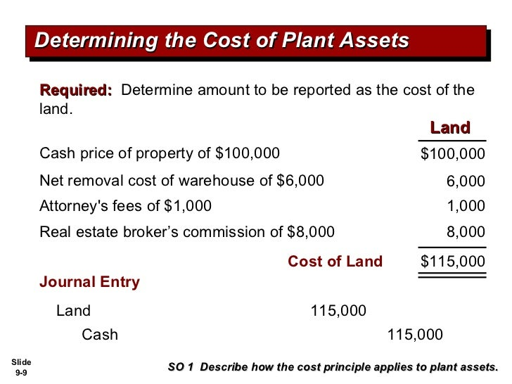 What are Plant Assets?