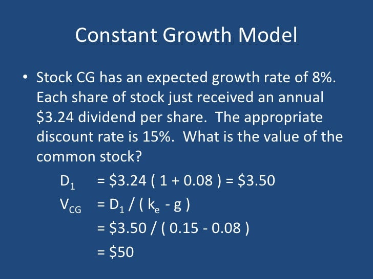 capm vs constant growth valuation model Unformatted text preview: (d) the capm indirectly considers risk as reflected in the market return, while the constant growth model uses dividend expectations as a reflection of riskanswer: b level of difficulty: 4 learning goal: 3 topic: capm versus constant growth model 206 gitman • principles of finance, eleventh edition 47.